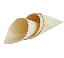 10 Conos de bambu