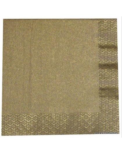 Servilletas de papel Oro