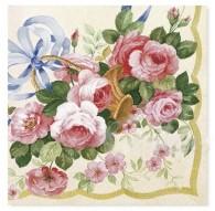 servilletas flores