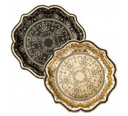 Platos de papel decorados