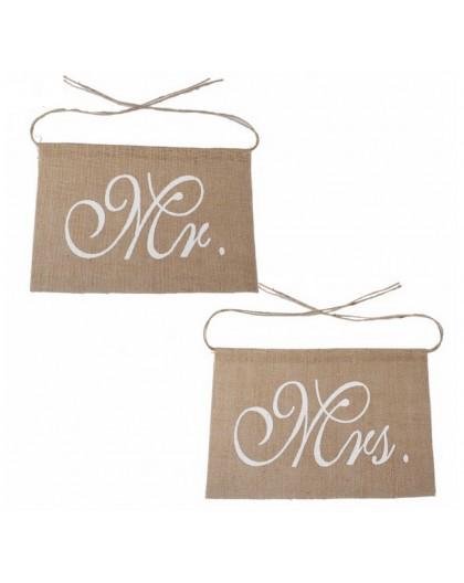 SET DE CARTELES MRS & MR