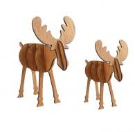 Renos de madera 3D