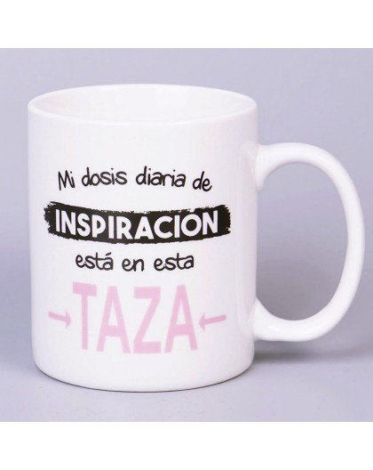 "Taza Personalizada ""Inspiración"""