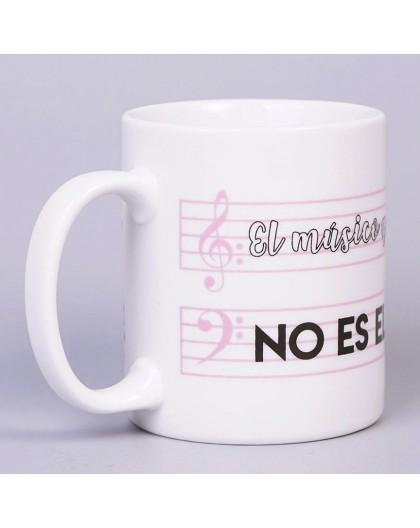 Taza Personalizada para Músicos
