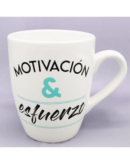 """Taza """"Motivación y Esfuerzo"""""""