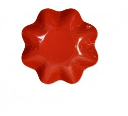ensaladera pequeña roja