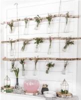 DIY: Backdrop de flores colgantes