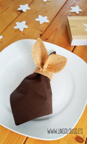 DIY: Servilleteros para la mesa de Pascua