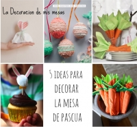 Ideas para la mesa de Pascua